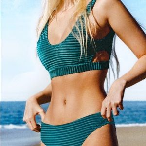 Cupshe Velvet Bikini